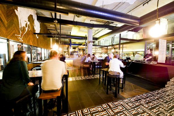 Ludlow Bar Dining Room In Southbank Venuebat Christmas Day Lunch 2017