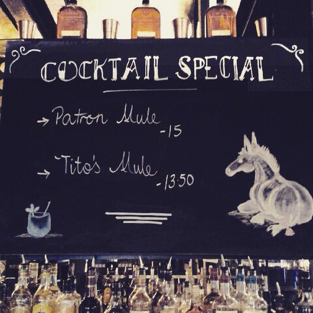 **Cocktail specials** on offer for a limited time, two new drinks to choose from containing Patron Silver.... NICE ASS 😉
